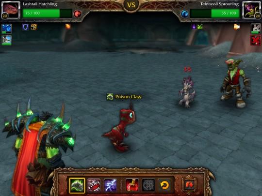 World of Warcraft Mists of Pandaria Combat de Mascottes