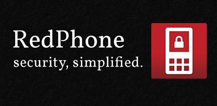 RedPhone, la sécurité simplifiée.