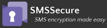 SMS Encryption made easy